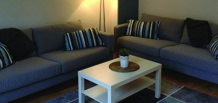 Frisch renoviert und möbliert – unsere Gästewohnung in der Straße der Jugend 6